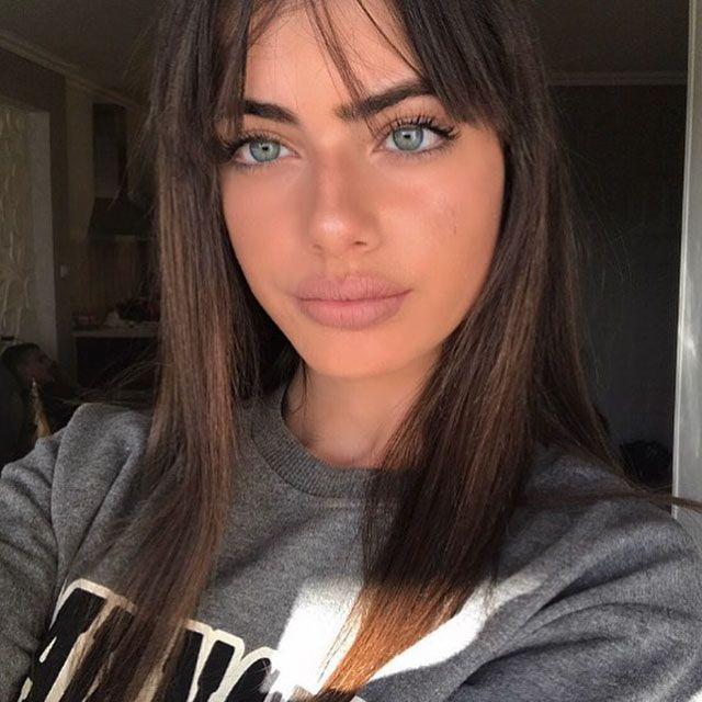 Girls pretty hot eyes with Top 20