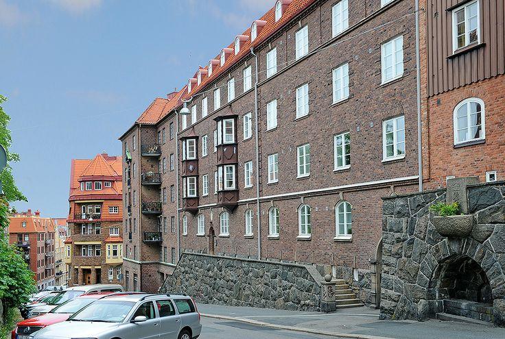 Lugna enkelriktade Erik Dahlbergsgatan