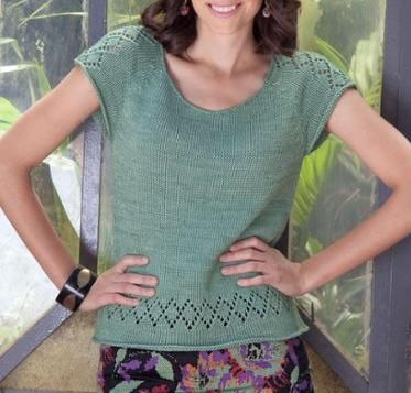 Kit Moore Sweater Knitting