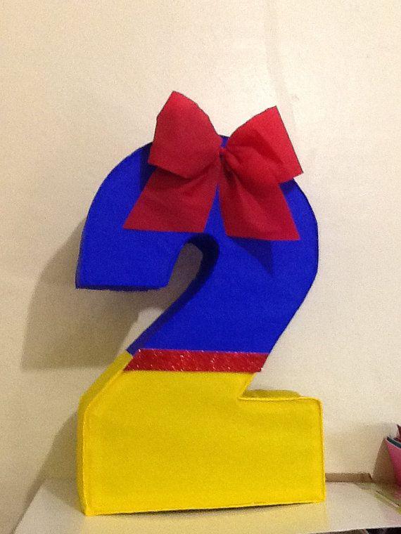 Number 2 pinata snow white. Snow white pinata. Snow by aldimyshop