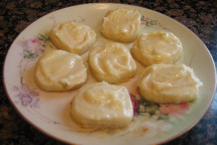 These lemon melt away cookies literally melt in your mouth. If you like lemon, you will definiely love these cookies.