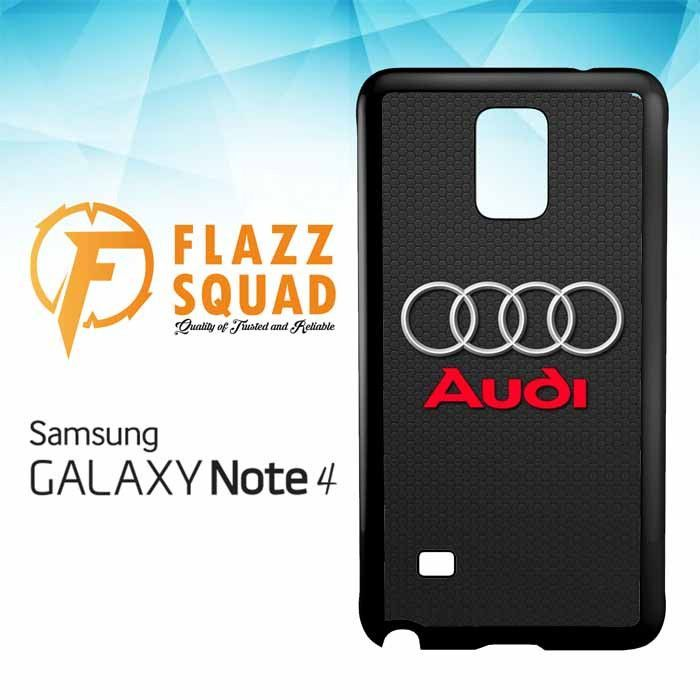 Audi Logo Z4279 Samsung Galaxy Note 4 Case