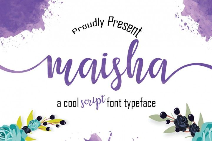 Maisha Script - $1 limited time offer By MrLetters