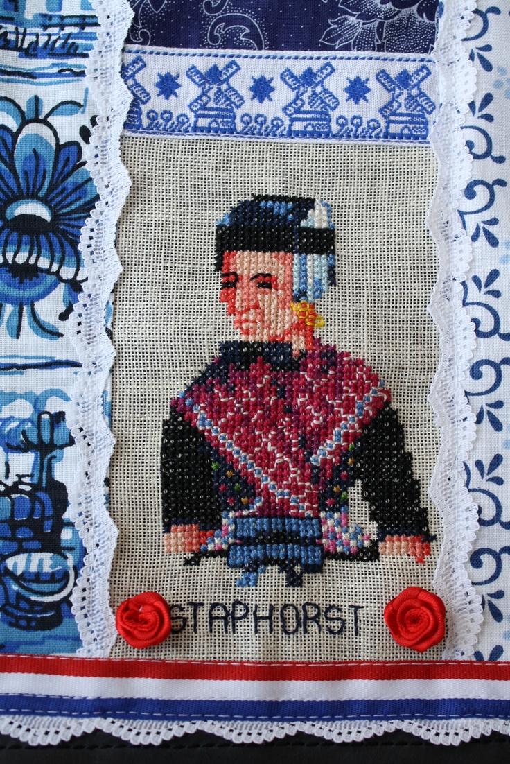 staphorst embroidery #Overijssel #Staphorst