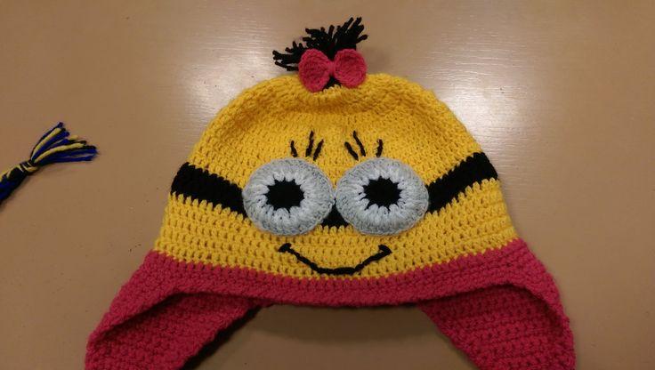 crochet tutorial for Minion hat (part 2) ♥