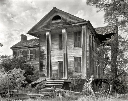 Bleak House 1936 Greene County, Georgia, circa 1936. Penfield vicinity.