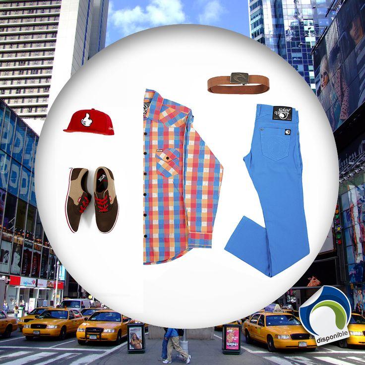 El #OutfitMareblustore para #Mañana #Jueves #Estilo #Casual para el #Dia y en la #Noche #Full #Rumbero #Chicos #Caballeros #Camisa #Wicked #Correa #Quiksilver #Pantalon #Zapatos #Vox #Urbano #Mareblustore #TiendaOnLine #Outfit #TiendaSurfValencia #TiendaFisica #Valencia #SanDiego #ValenciaSkate #SanDiegoSkate #Moda #Fashion