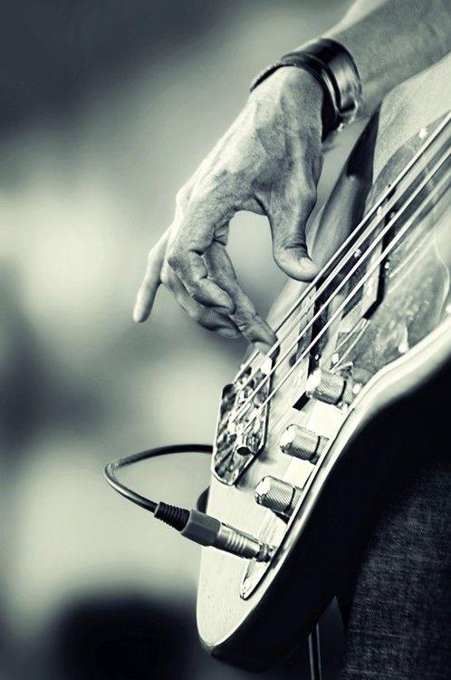 Playing Bass By: Hamry Wabula