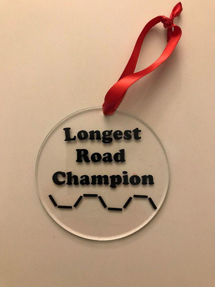 Catan Longest Road Champion Christmas Ornament M&L Shop