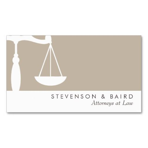 280 best attorney business cards images on pinterest lyrics text justice scale attorney business card cheaphphosting Images
