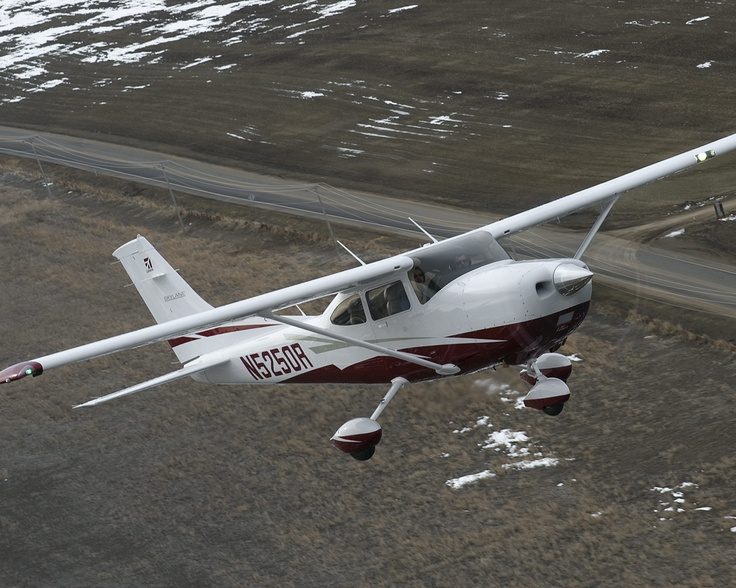 how to fly a cessna 182