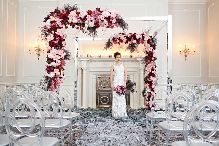 WedLuxe– 50 Shades of Passion   Photography by: Butter Studio Follow @WedLuxe for more wedding inspiration!