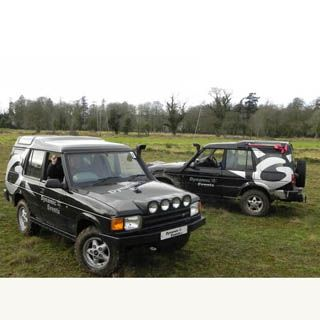 This 90 minute experience gives you the opportunity to get behind the wheel of a 4x4 Jeep and explore the natural scenery of countryside Ireland. Steer, Jump and skid your way through an obstacle course tailored to test even the most confident extreme driver.