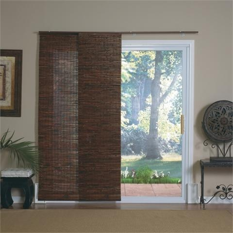 Mahogany bamboo windows and patio doors track panels by for Panel tracks for patio doors