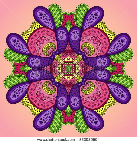stock-vector--violet-pink-mandala-vector-illustration-333029504.jpg (450×470)
