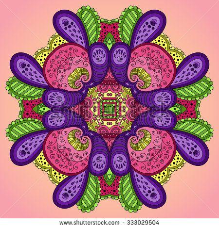 stock-vector--violet-pink-mandala-vector-illustration-333029504.jpg (450×470)