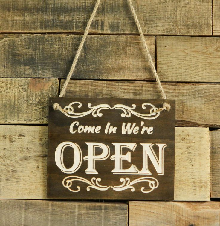 Well here we go! Two Splinters Woodworking is happy to announce that we are OPEN for business. We would love to work with you to design original pieces for your home, cabin or wedding. Our precision carved signs can be custom ordered in a variety of sizes, colors and styles to meet your needs. Whether it's a rustic personalized sign for your Wedding Day or an original idea for a house warming gift, we can make your idea come to life. Just visit us at http://twosplinters.com t