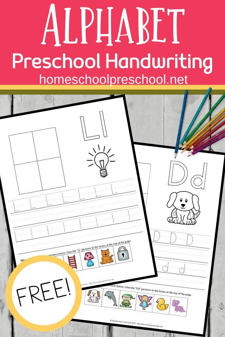 Free Printable Alphabet Worksheets For Preschoolers Free Printable Alphabet Worksheets Alphabet Preschool Alphabet Worksheets Free [ 1102 x 735 Pixel ]