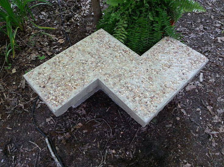 25+ Unique Concrete Garden Bench Ideas On Pinterest | Fire Pit Seating,  Patio Garden Ideas For Apartment And Outdoor Seating Bench