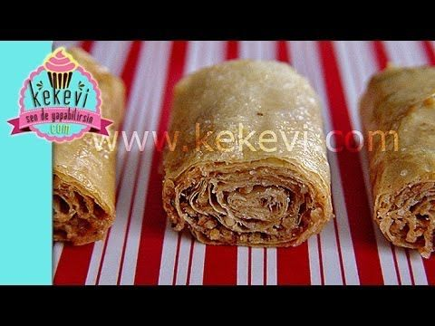Tahinli Süper Çıtır Rulo - Kekevi Yemek Tarifleri - YouTube
