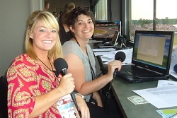 Ball State student Katie Hargitt spent a day in the booth announcing a #NASCAR race and then shared the experience with us!
