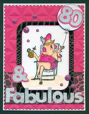 Art Impressions Rubber Stamps: Ai Girlfriends: Beach Babes set. Hampton Art clear stamp set. Girlfriends handmade card