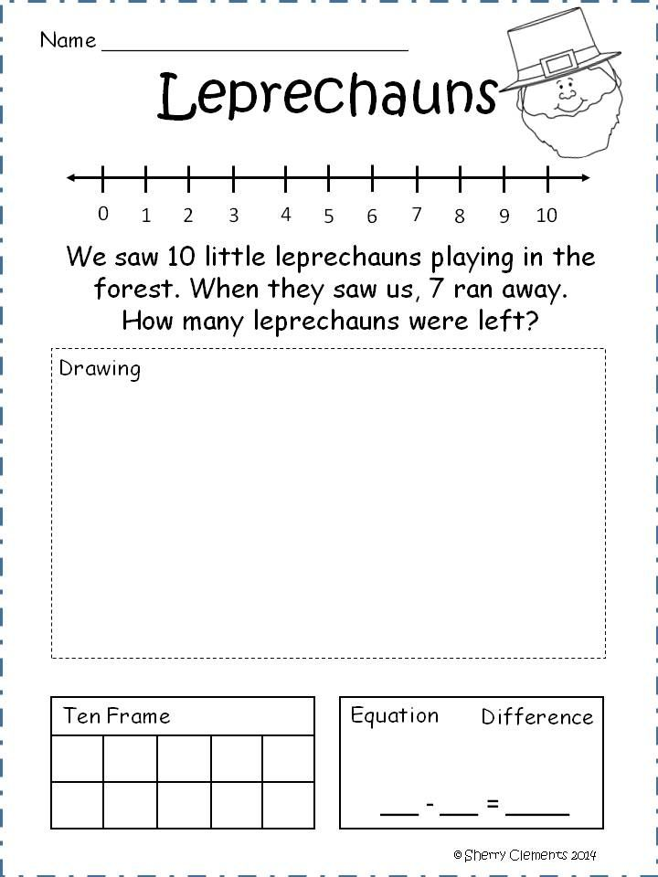 1000 images about Math Unit 6 Combinations within 10 on – Common Core Subtraction Worksheets