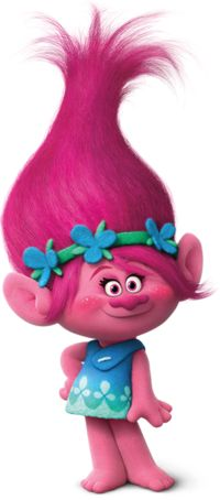 Poppy is the main protagonist of the 2016 film Trolls. She is be voiced by Anna Kendrick. Poppy is our lead, a relentlessly upbeat — if slightly naive — Troll whose father King Peppy saved his subjects from the Troll-hungry Bergens. As she and her group of nine friends, the Snack Pack, face their biggest challenge ever, Poppy is faced for the first time in her life with a problem that apparently can't be solved with a song, a dance and a hug. But after some hilarious attempts at saving…