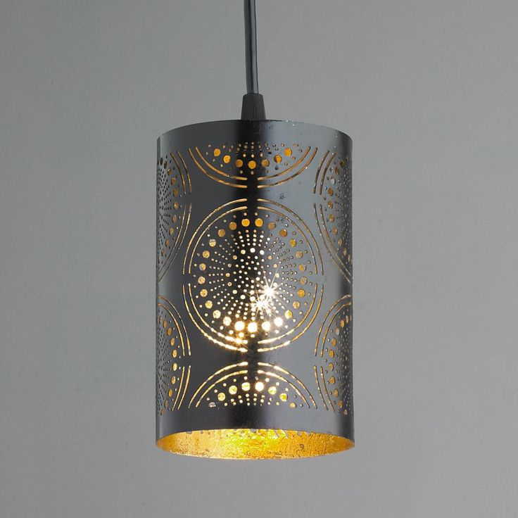 Metal Lace Pendant Light