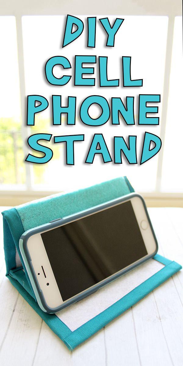 Diy Cell Phone Stand Diy Cell Phone Stand Diy Phone Stand Diy