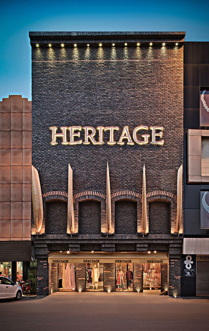 rmdk architects designs heritage, a boutique retail store in india