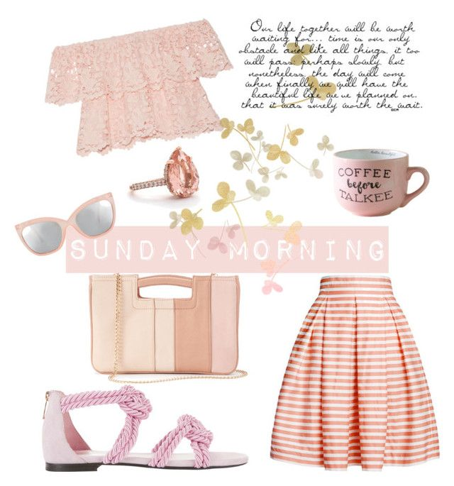 """""""summer morning"""" by hollydolli on Polyvore featuring Rumour London, LC Lauren Conrad, ASOS, Miguelina and Maison Ernest"""