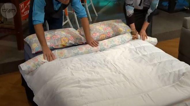 L'incroyable astuce pour enfiler votre couette dans vos draps de lit en une minute seulement ! (vidéo)