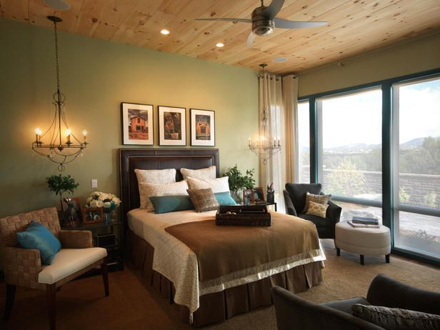 Transitional Bedrooms from Linda Woodrum on HGTV