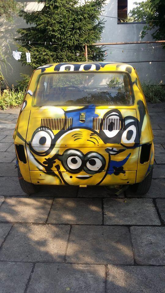 pimp my ride , graffiti fiat 125p