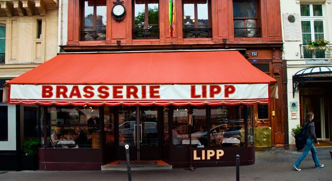 Giambattista Valli's Favorite Things  BRASSERIE LIPP This classic Paris restaurant is open until late at night. I've crossed paths here with everyone from Lee Radziwill to Kate Moss. I always order the sole meunière.