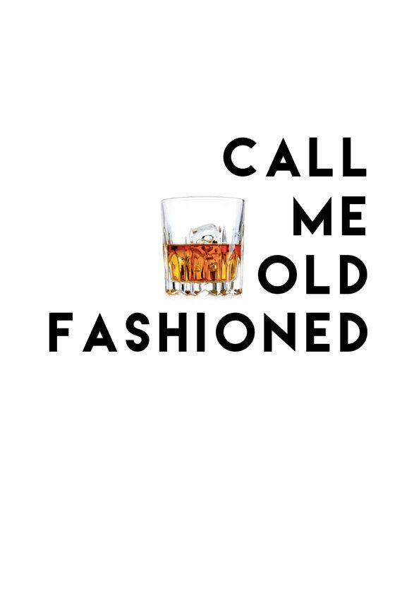 Call Me Old Fashioned Printable by DesignByNohea on Etsy