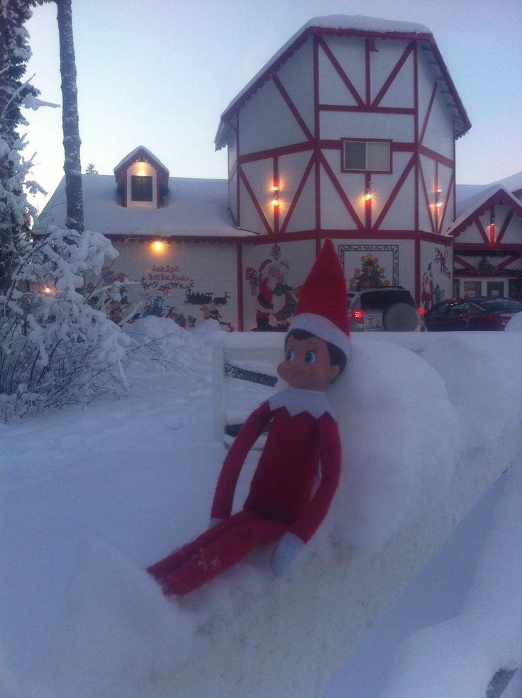 Santas House North Pole Ak Funny Pinterest