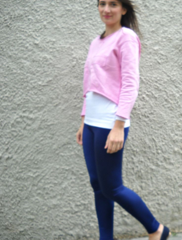 GREASE IS THE WORLD-NIGHT BLUE LYCRA LEGGINGS http://wp.me/p4OV6a-43