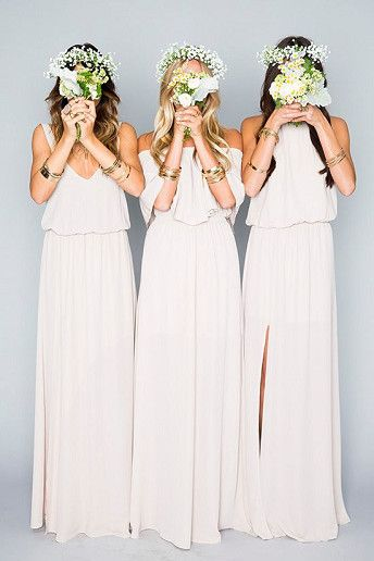 Wedding Magazine - 19 of the most popular bridesmaid dresses on Pinterest