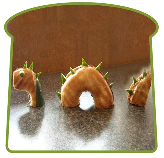 food art-15 ideas with sandwiches