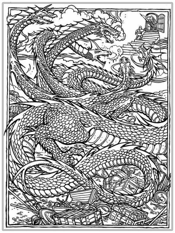 Real Dragon Coloring Pages Coloring Pages Licious Dragon Coloring Pages For Adults Dragon Coloring Page Detailed Coloring Pages Online Coloring Pages