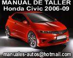 Reparacion Manual de Reparación Mecanica Taller Honda Civic 2006 2007