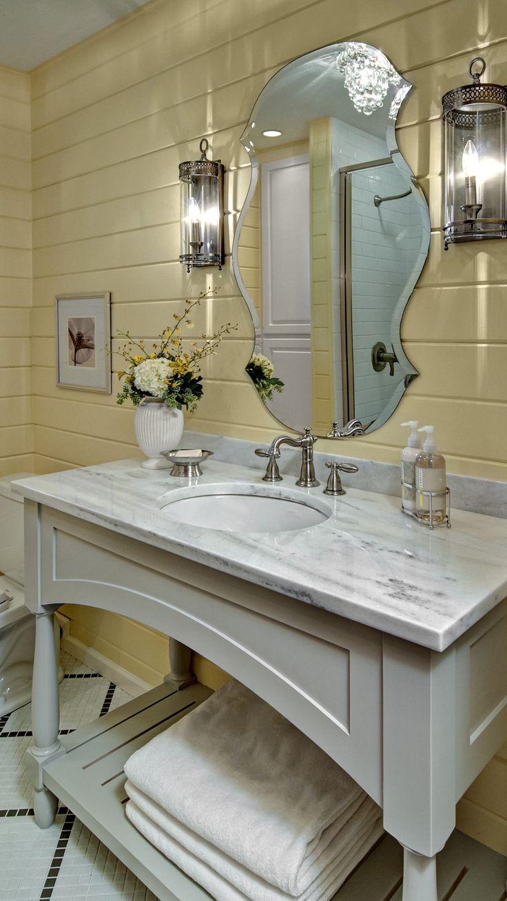 Rustic chic bathroom - Rustic Chic Bathroom