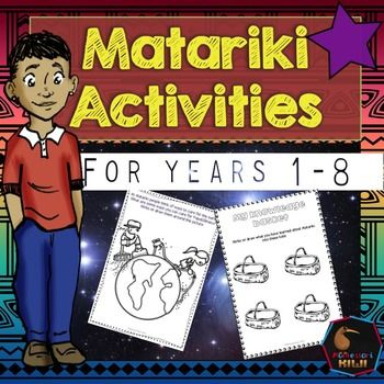 Matariki Activities for NZ Classrooms for Maori New Year a range of teaching activities for years 1-8