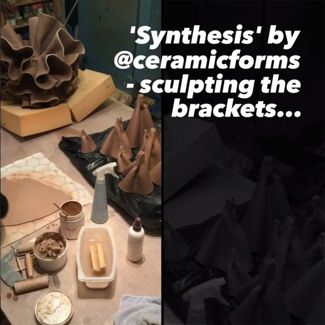 Process video. #process #ceramicstudio #CeramicSculpture #synthesis #MichelleMaher #ceramic #sculpture #making #studio #studiolife #clay #unfired #paperclay #artist #Sculptureincontext #Dublin #Ireland #BotanicGardens #natureinspired #brackets #coral #fungi #connection #loveclay #irishceramics