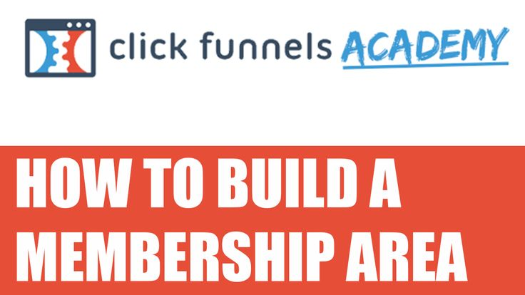 ClickFunnels - How to build a membership area https://epicstate.com/clickfunnels