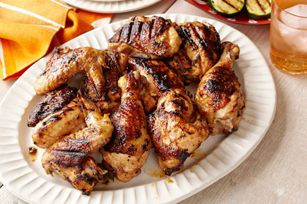 White Barbecue Chicken recipe (prep for 20 minutes cook for...cook for 2:50) Good recipe while your you have things to do around the house.