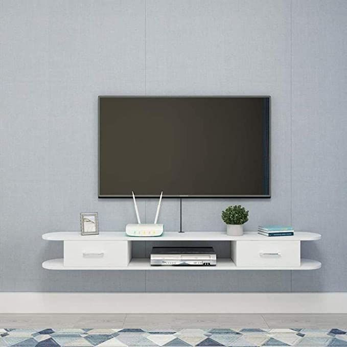 13++ Floating wall cabinets living room ideas