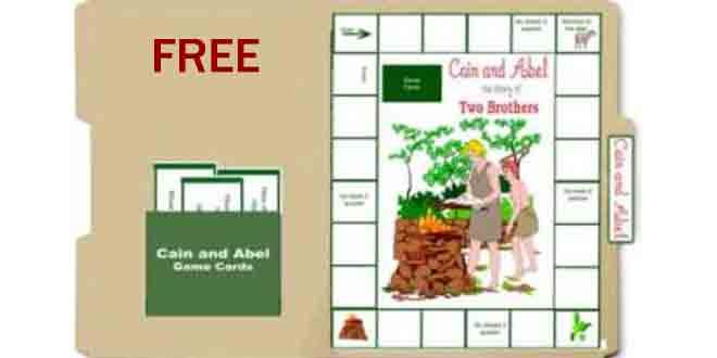 Free Cain and Able Lapbook Game | Heart of Wisdom Homeschool Blog